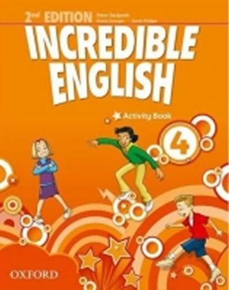 Incredible English 2nd Edition 4 Activity Book - Phillips Sarah