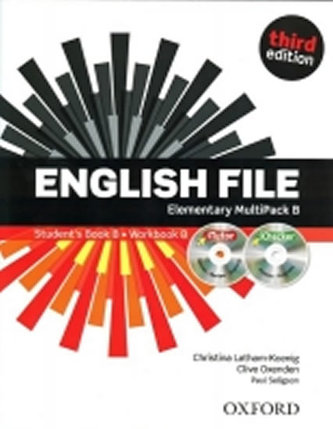 English File Third Edition Elementary Multipack B - Oxenden Clive, Latham-Koenig Christina,