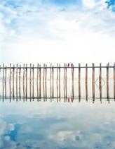 Zápisník - Most ve vodě