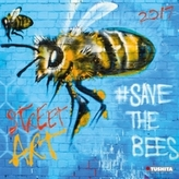 Nástěnný kalendář - Street Art 2017