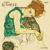 Nástěnný kalendář - Egon Schiele 2017