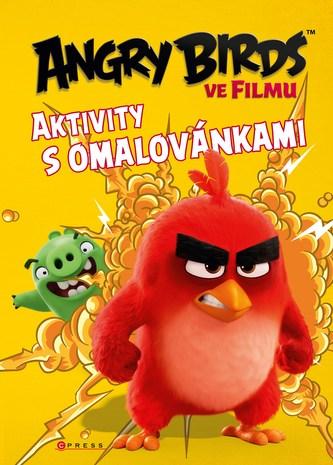 Angry Birds ve filmu - Aktivity s omalovánkami - Linda Perina