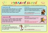 Slovenský jazyk - Vybrané slová