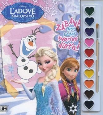 Zábava pre každé tvorivé dieťa! Ľadové kráľovstvo