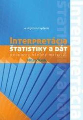 Interpretácia štatistiky a dát - podporný učebný materiál 4. doplnené vydanie
