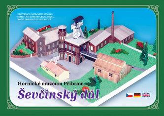 Hornické muzeum Příbram Ševčinský důl - Stavebnice papírového modelu