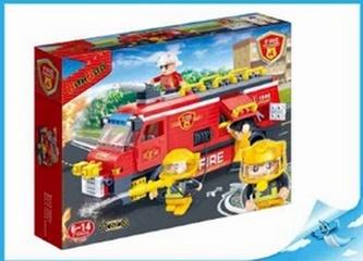 BanBao stavebnice Fire hasičské vozidlo velké
