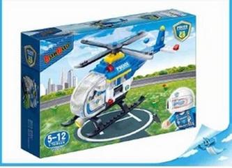 BanBao stavebnice Police policejní helikoptéra