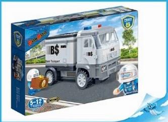 BanBao stavebnice Police policejní ozbrojená dodávka zpětný chod