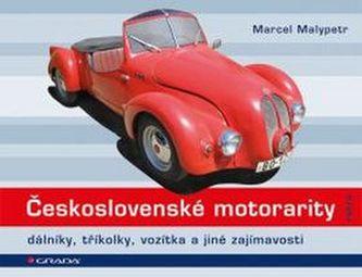 Československé motorarity - dálníky, tříkolky, vozítka a jiné zajímavosti