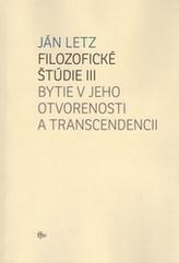 Filozofické štúdie III.