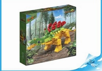BanBao stavebnice Dinosaur Park Stegosaurus