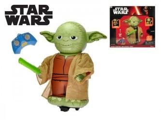 Star Wars RC Jumbo Yoda nafukovací 67cm plná funkce na baterie se zvukem v krabici 38x36x9cm