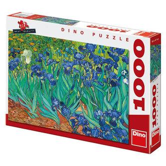 Vincent Van Gogh - Kosatce - Puzzle 1000 dílků - neuveden
