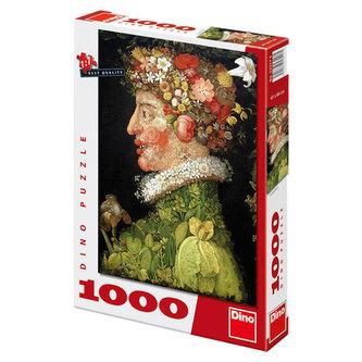 Guiseppe Arcimboldo - Jaro 1573 - Puzzle 1000 důlků