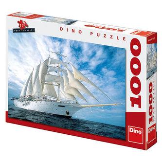 Plachetnice - Puzzle 1000 dílků