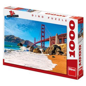 Most Golden Gate - Puzzle 1000 dílků