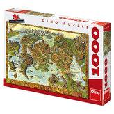 Atlantida - Puzzle 1000 dílků