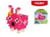 Mozaika vodní perly 3D 300ks plast zajíček s doplňky 5x6mm Paulinda Super Beads v krabičce