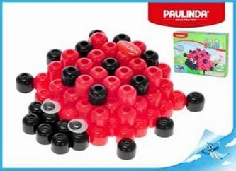Mozaika vodní perly 3D 100ks plast beruška Paulinda Super Beads v krabičce