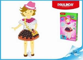 Paulinda Super Beads 3D 10x8mm 95ks holčička