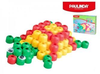Mozaika vodní perly 3D 100ks plast želva Paulinda Super Beads v krabičce