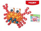 Mozaika vodní perly 3D 100ks plast krab Paulinda Super Beads v krabičce