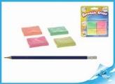 Tvořící hmota/guma 4 ks na kartě