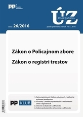 Úplne znenia zákonov 26-2016