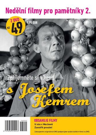 Nedělní filmy pro pamětníky 2. - Josef Kemr - 2 DVD pošetka