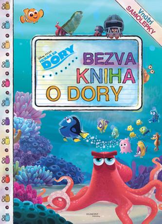 Hľadá sa Dory Bezva kniha o Dory