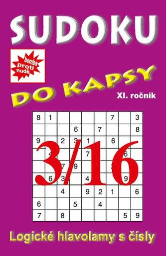 Sudoku do kapsy 3/2016 (fialová)
