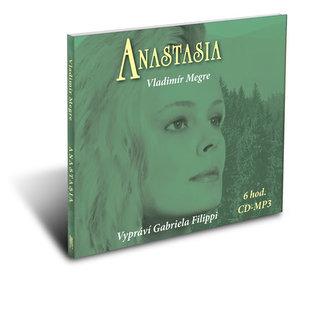 Anastasia - čte Gabriela Filipi ( Audio CD MP3 - 6 hodin)