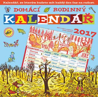 Domácí rodinný kalendář 2017