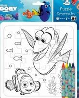 Kreatívne puzzle súprava - Hľadá sa Dory