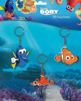 3D kľúčenky - Hľadá sa Dory