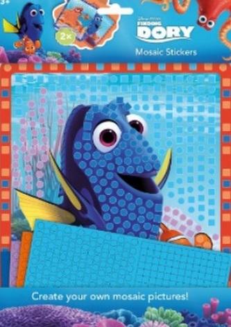 Mozaikové samolepky - Hľadá sa Dory