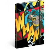 Notes - Batman/Wham, linkovaný, 13 x 21 cm