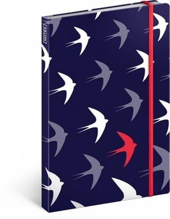 Notes - Flyaway, linkovaný, 13 x 21 cm