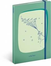 Notes - Malý princ/Birds, linkovaný, 13 x 21 cm
