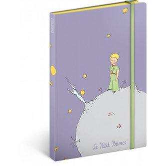 Notes - Malý princ/Planet, nelinkovaný, 13 x 21 cm