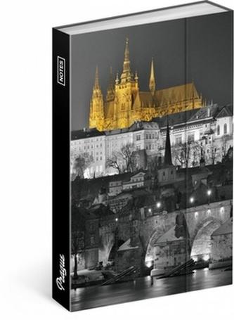 Notes - Praha/Jakub Kasl, linkovaný, 10,5 x 15,8 cm - neuveden