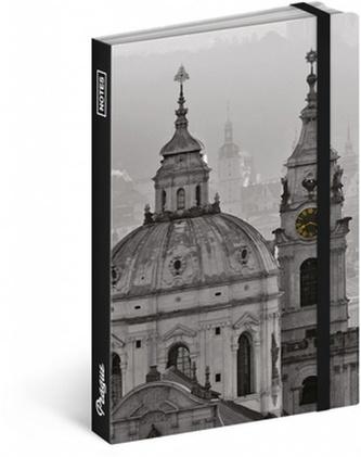 Notes - Praha/Jakub Kasl, nelinkovaný, 13 x 21 cm - neuveden