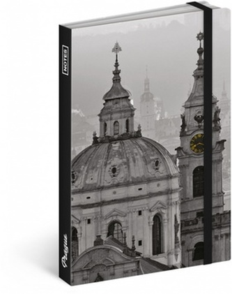 Notes - Praha/Jakub Kasl, nelinkovaný, 13 x 21 cm