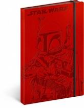 Notes - Star Wars/Hunter, nelinkovaný, 13 x 21 cm
