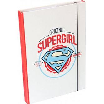 Desky na školní sešity A4 - Supergirl - neuveden