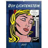 Kalendář nástěnný 2017 - Roy Lichtenstein/Tvorba ze 60. let