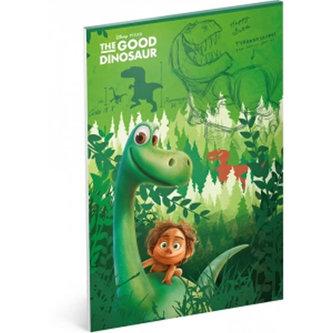 Náčrtník - Hodný dinosaurus/A4 nelinkovaný 50 listů