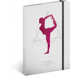 Diář 2017 - Jóga diář A5