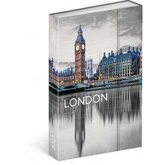 Diář 2017 - Londýn - týdenní